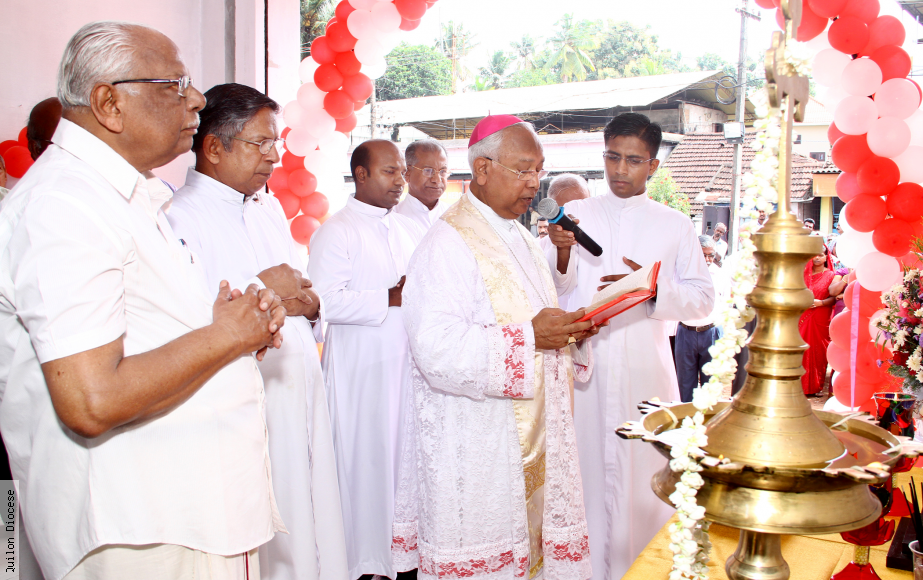 Blessing of Morning Star Chambers -16-07-2015, Curson Road, Kollam.